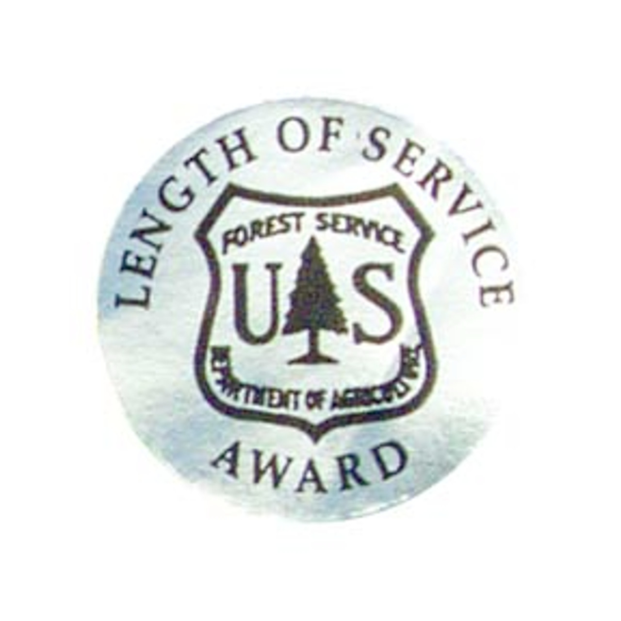 Forest Service Length of Service Award Stickers