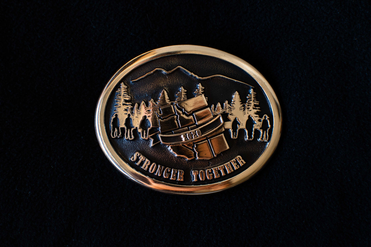Wildfire 2020 Stronger Together Buckle (WFF Donation)