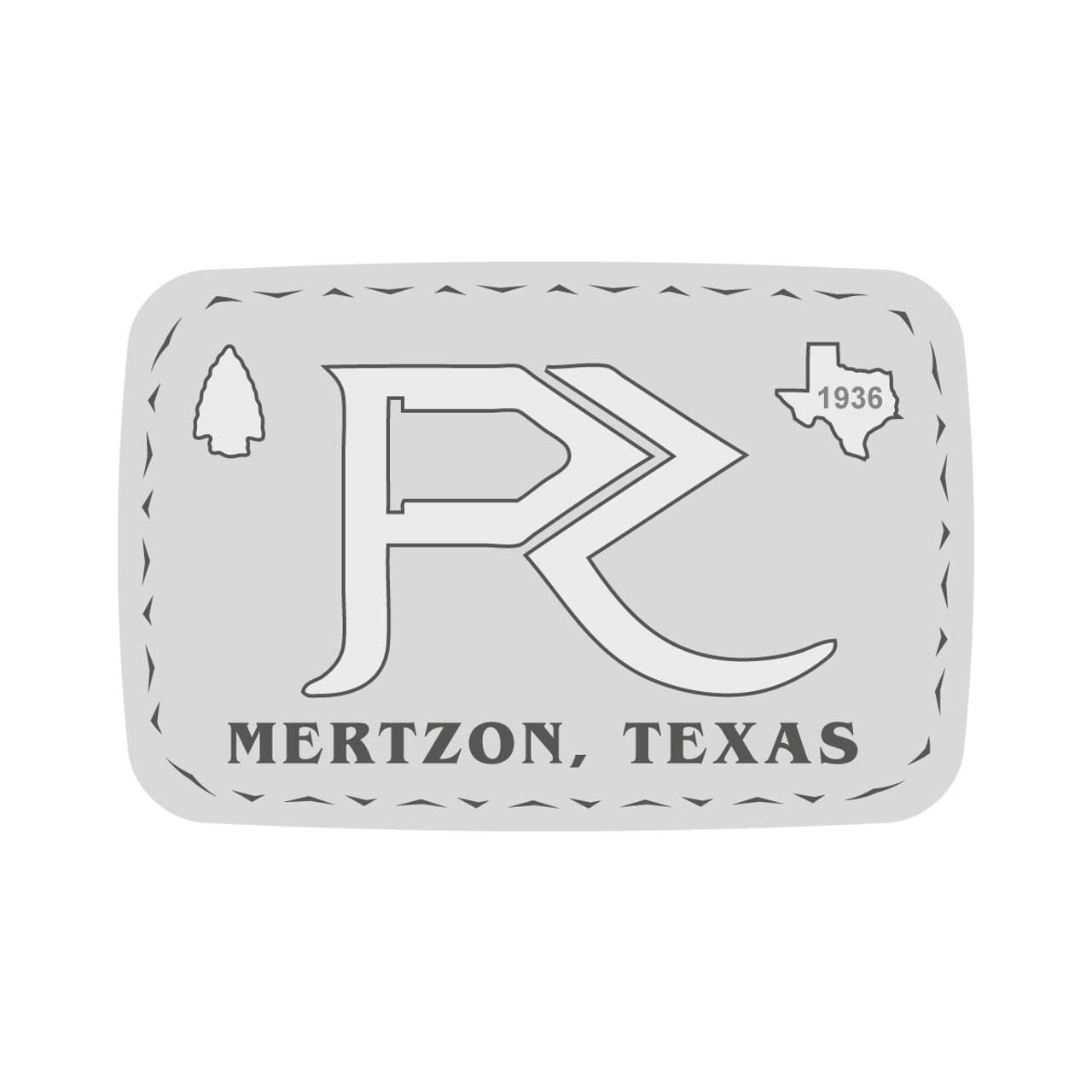 Pleasant Rock Ranch Mertzon Texas Buckle (RESTRICTED)