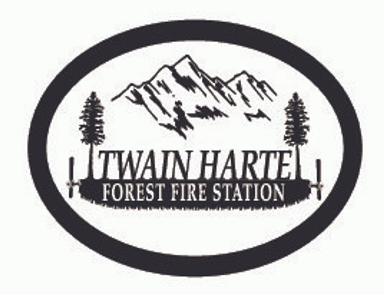 Twain Harte Forest Fire Station Buckle - Standard (RESTRICTED)