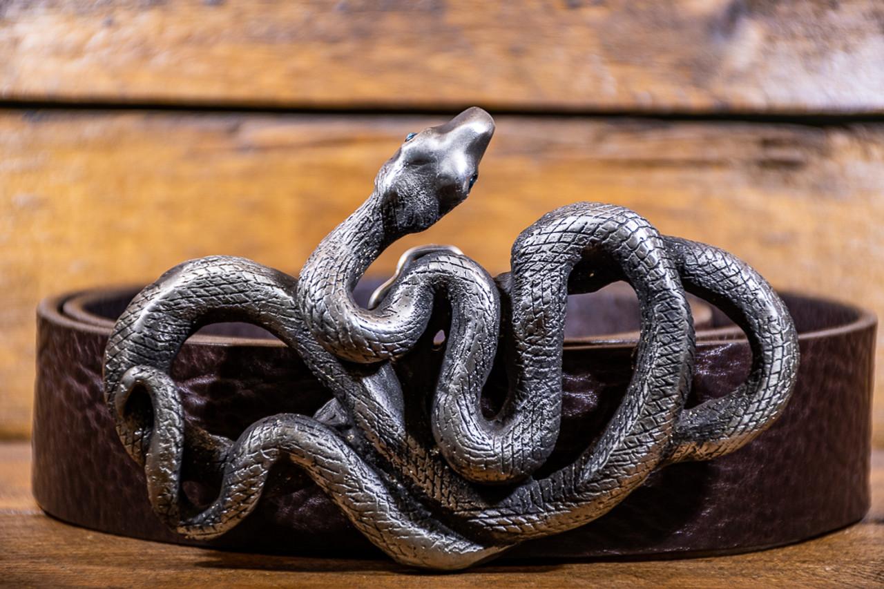 Raven Saint- Snake Buckle