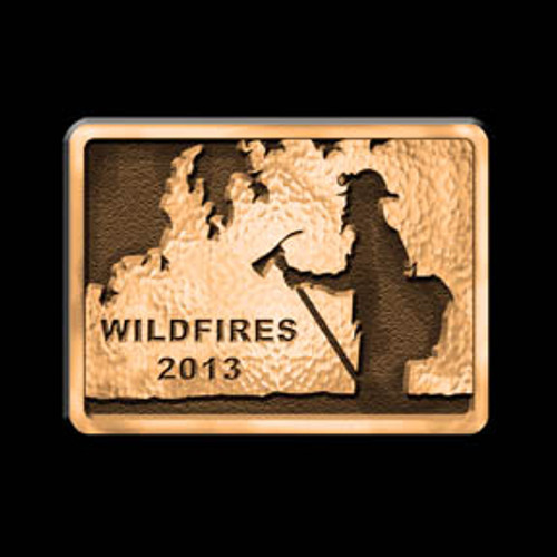 Wildfires 2013 Buckle