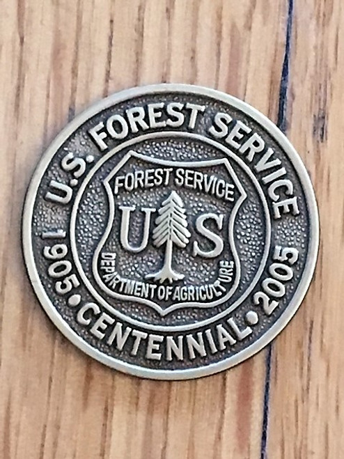 Forest Service 2005 Centennial Spur Set - Limited Edition