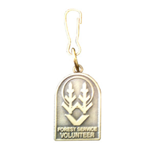 Forest Service Volunteer Zipper Pull (DISCONTINUED)