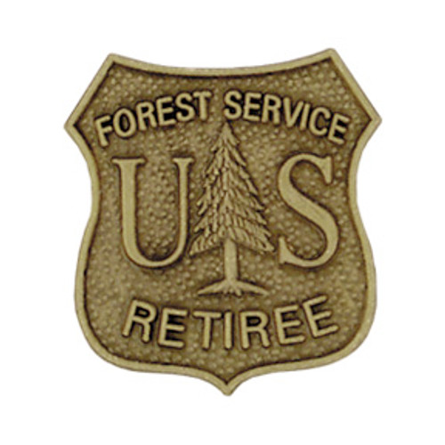 US Forest Service Retiree Lapel Pin