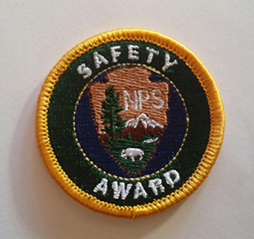 National Park Service Safety Award Patch (NPS Employees only)