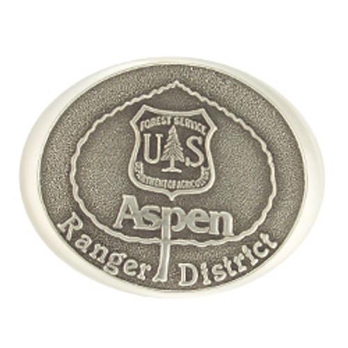 Aspen Ranger District Buckle