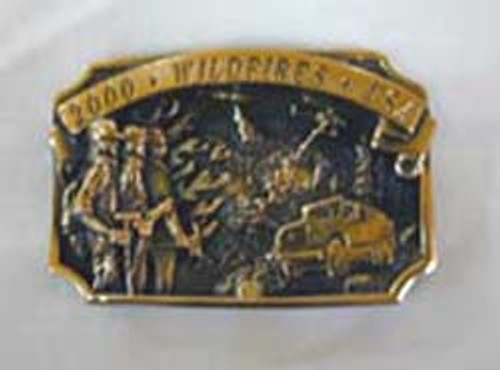 Wildfires 2000 with Tanker Truck Buckle