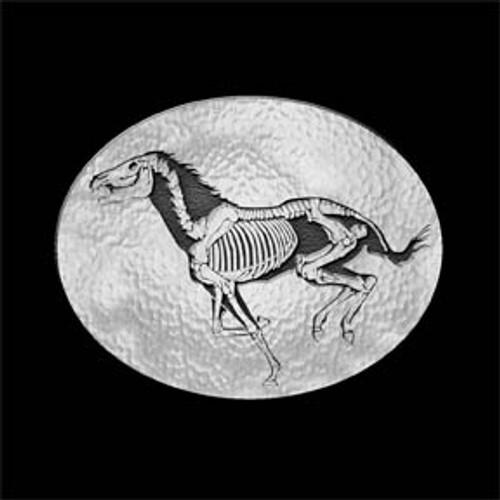 Skeleton Horse Buckle