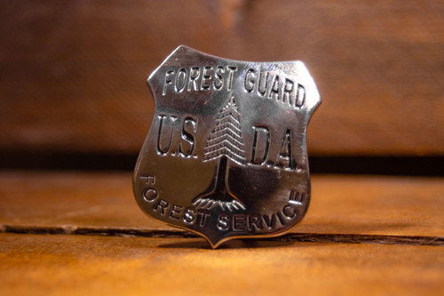 USDA Forest Service Guard Badge