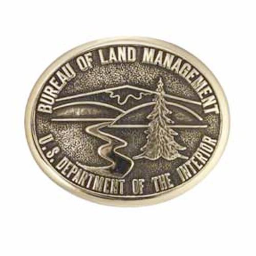 Bureau of Land Management Buckle