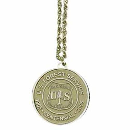 Forest Service Centennial Necklace