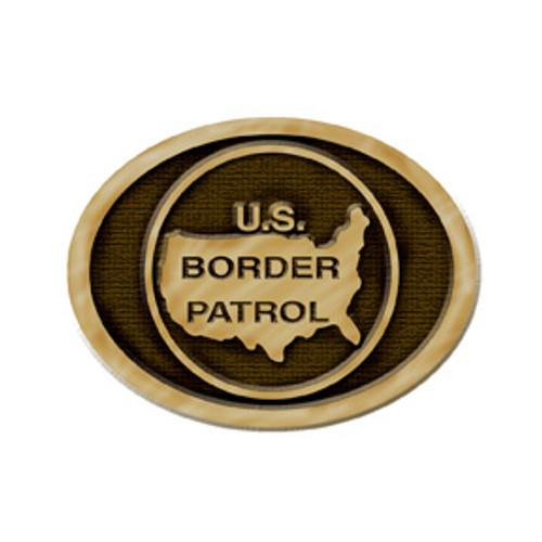 Border Patrol Buckle