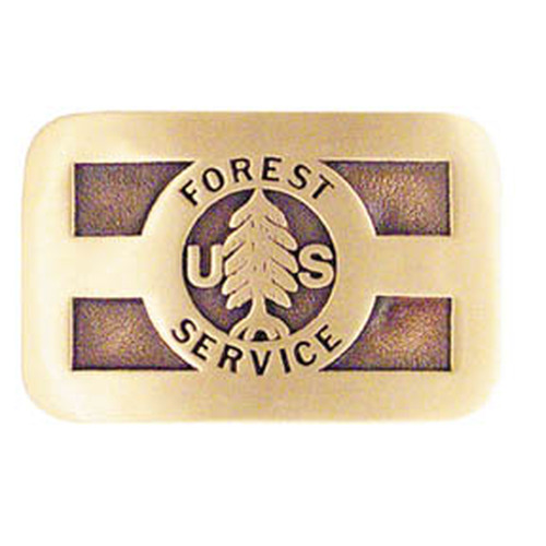 Forest Service Old Yale Lock Buckle