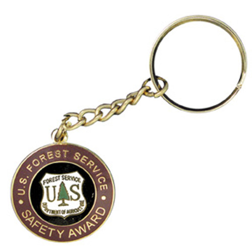 Forest Service Safety Award Keychain