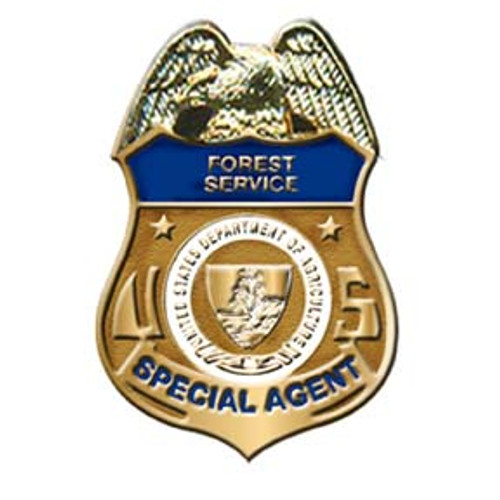 Forest Service LEI Gold Lapel Pin