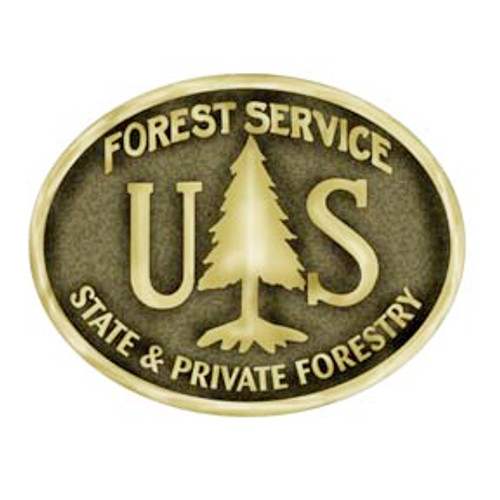 Forest Service State & Private Forestry Buckle (Dress Size)