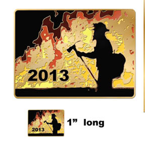 2013 Wildfire Pin