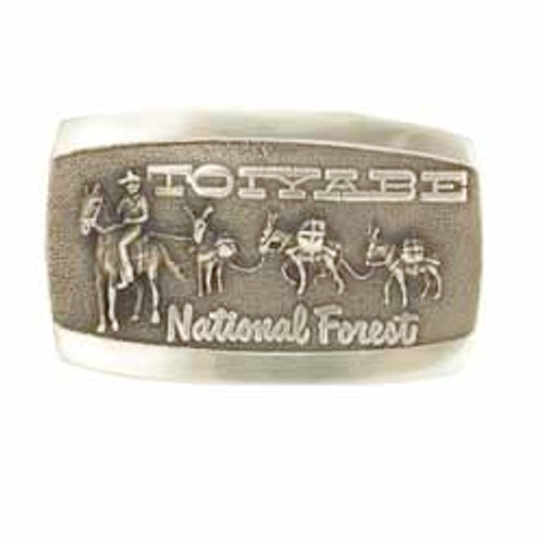 Toiyabe National Forest Rectangle Buckle
