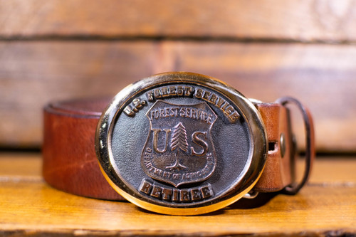 Forest Service Retiree Buckle