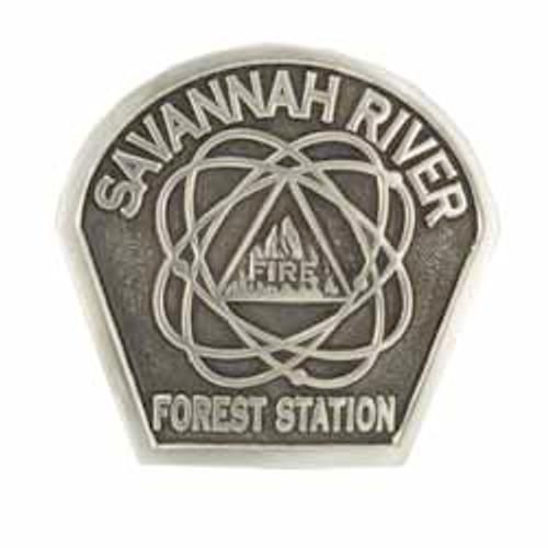 Savannah River Forest Station Buckle