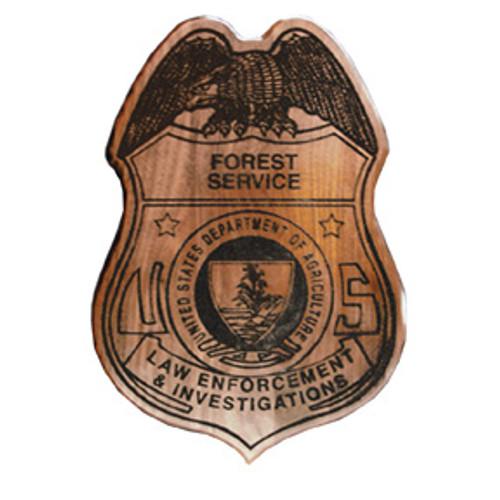 US Forest Service LEI Plaque