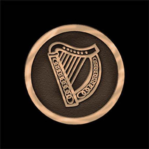 Celtic Harp Buckle