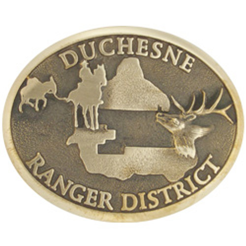 Duchesne Ranger District Buckle