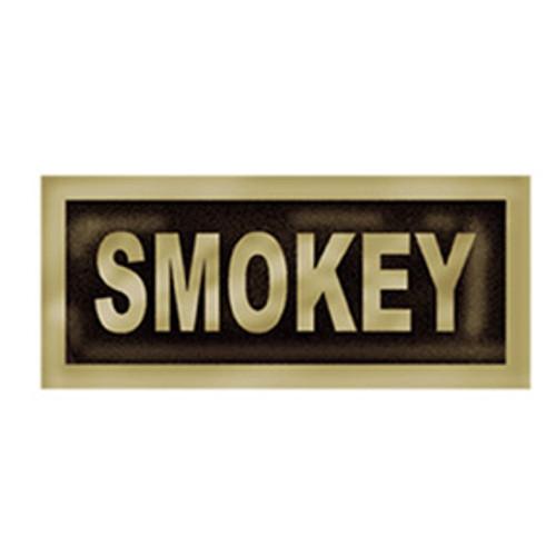 Brass Smokey Bear Buckle Pin
