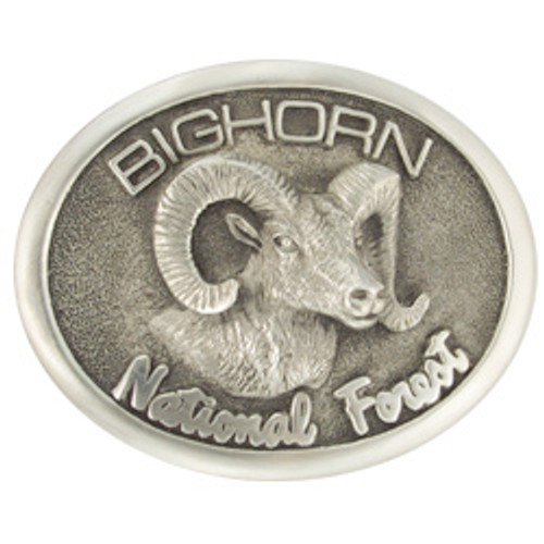 Bighorn National Forest Buckle