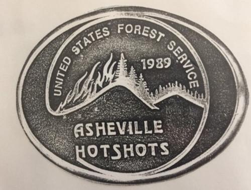 Asheville Hotshots Buckle (RESTRICTED)