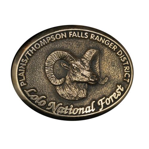 Plains/Thompson Falls Ranger District Buckle