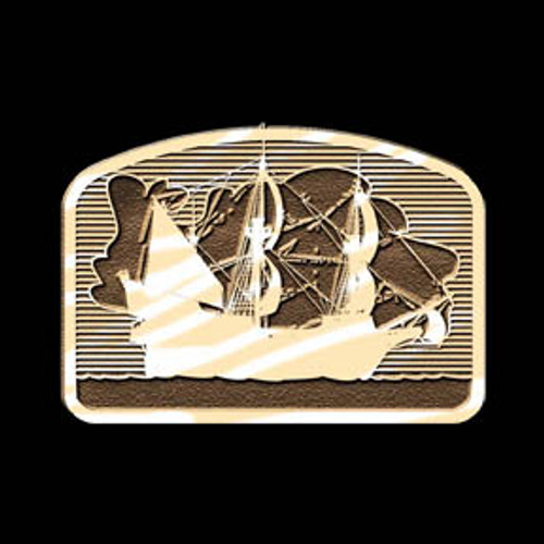 Pirate Ship 4 Buckle
