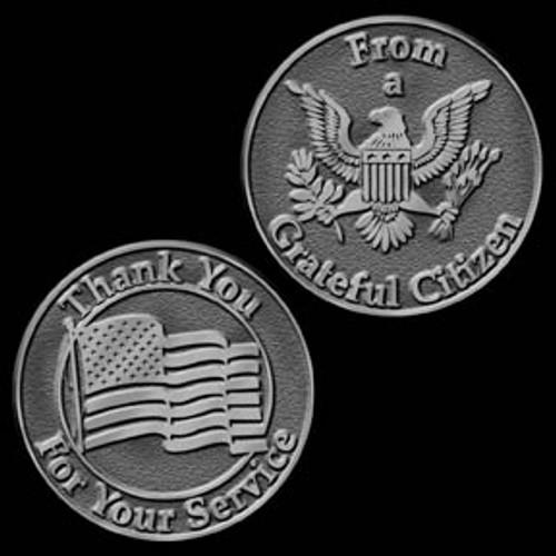 Grateful Citizen to a Veteran Token of Appreciation