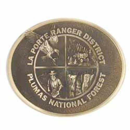 LaPorte Ranger District Buckle