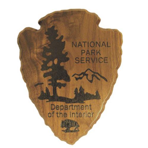 National Park Service Shield Plaque