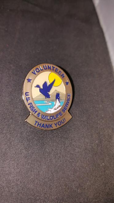 Fish & Wildlife Volunteer Hours Pin (THANK YOU)