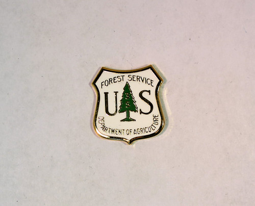 US Forest Service Years of Service Pin (35 years)