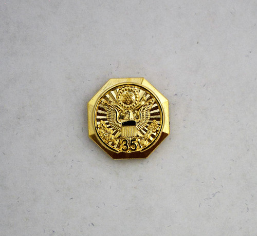 Forest Service Length of Service Pin with Eagle Crest (35 years)