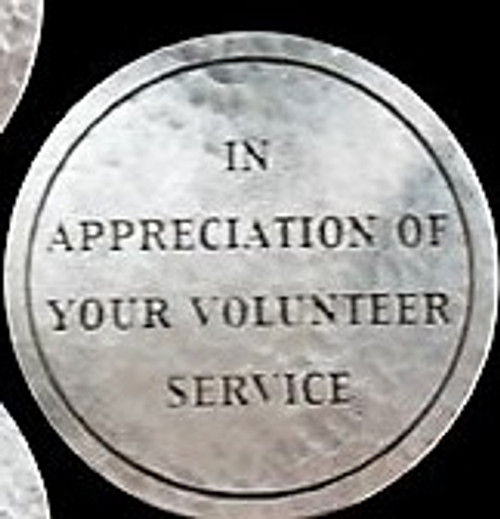 Bureau of Land Management Volunteer Appreciation Coin