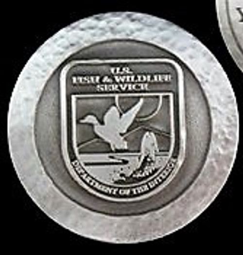 Fish & Wildlife Service Volunteer Appreciation Coin
