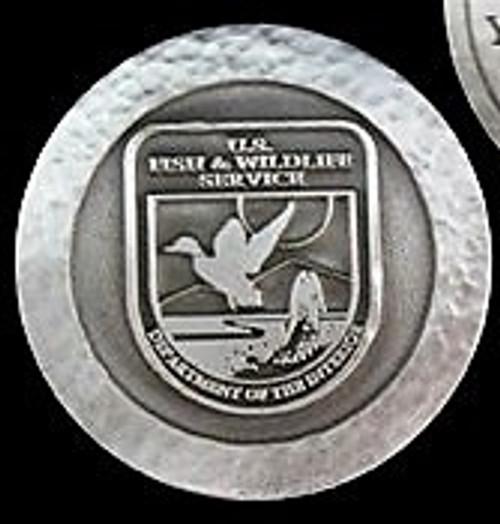 Fish & Wildlife Service Volunteer Appreciation Coin