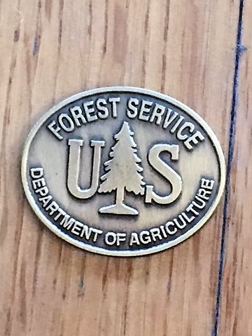 Forest Service (Oval Buckle Medallion) Spur Set