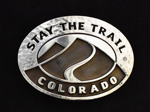 Stay the Trail Colorado Buckle