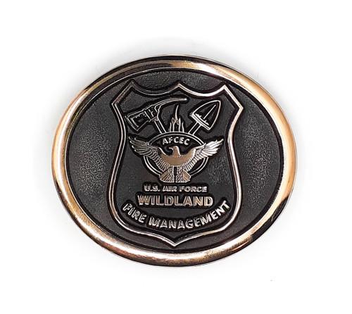 AFCEC Wildland Fire Management Buckle