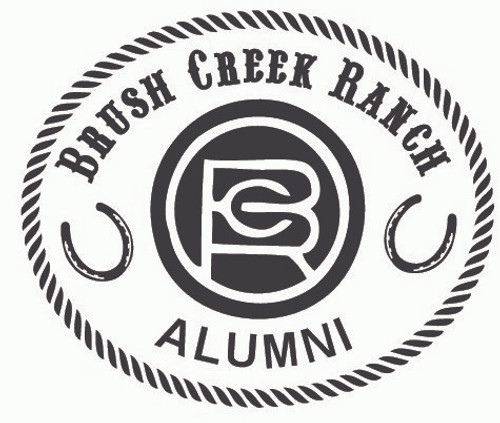 Brush Creek Ranch Alumni Buckle (RESTRICTED)
