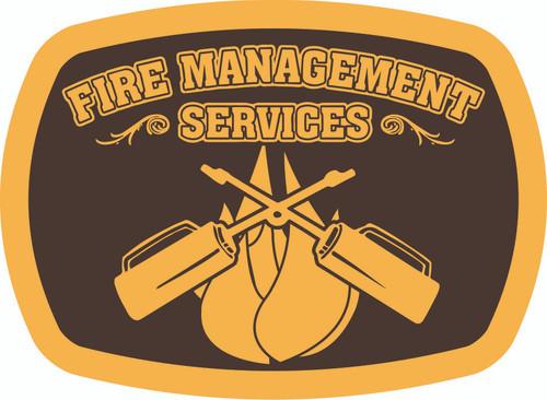 Fire Management Services Buckle