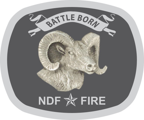 Battle Born NDF Fire Buckle (RESTRICTED)