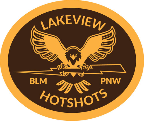 Lakeview Hotshots Buckle (RESTRICTED)