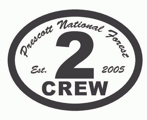 Prescott National Forest Crew 2 Buckle (RESTRICTED)